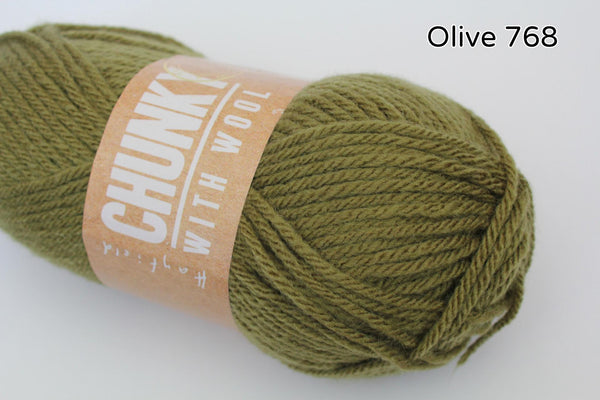 Hayfield Bonus Chunky with wool