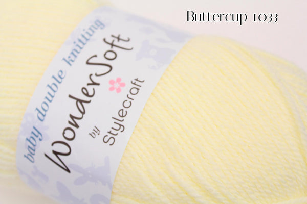 Stylecraft Wondersoft Baby Double Knit Yarn