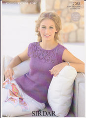 Ladies Cotton Double Knit Pattern 7083