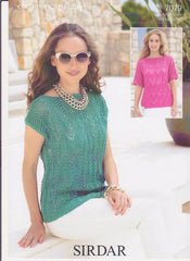 Ladies Cotton Double Knit Pattern 7079