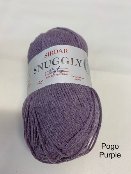Sirdar Snuggly Replay Double Knitting Yarn