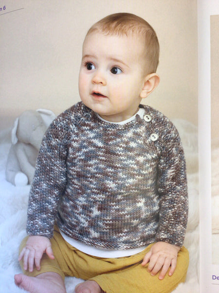 Sublime The Fourth Little Sublime Baby Prints Knitting Pattern Book 731