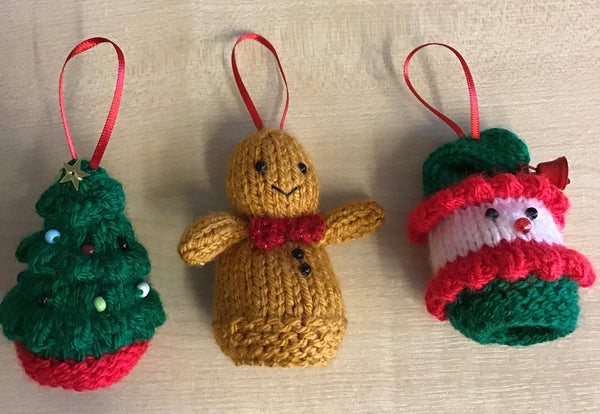 Knitted Christmas Decoration Kits ⭐️⭐️Fun of the Fortnight ⭐️⭐️☃️☃️🎅🏻🎅🏻