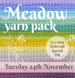 Attic 24 Meadow CAL Stylecraft Special D/K Yarn Pack