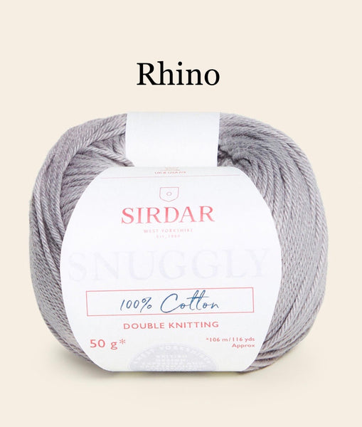 Sirdar Snuggly 100% Cotton Double Knitting Yarn