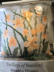 Twilleys Meadow Flowers Cross Stitch Cushion Kit