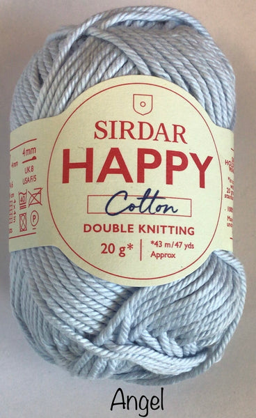 Sirdar Happy Cotton Double Knit Yarn