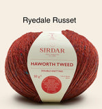 Sirdar Haworth Tweed Double Knit Wool
