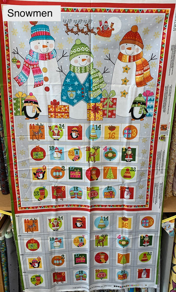 Christmas Advent Calendar Packs