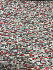 Makower Scandi Houses Fabric