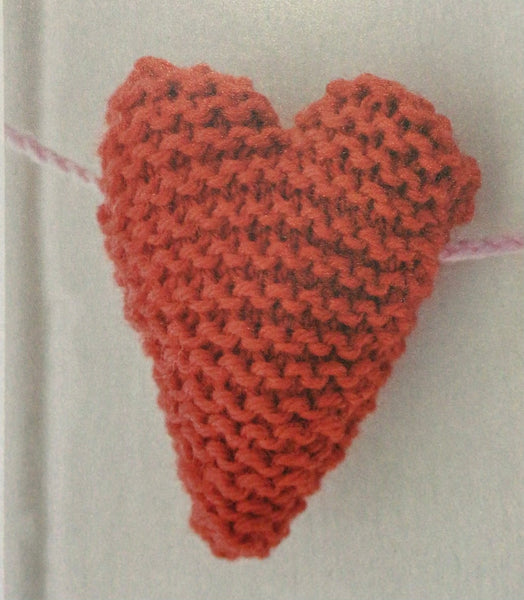 FREE Knitted hearts pattern