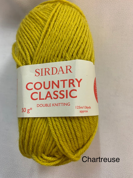 Sirdar Country Classic Double Knitting Yarn