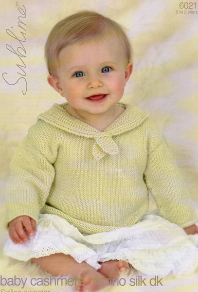 Sublime baby pattern 6021