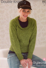Stylecraft double knit pattern 8507