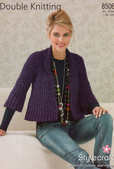 Stylecraft double knit pattern 8506