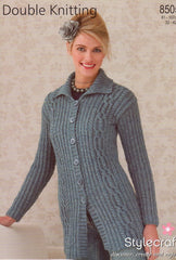 Stylecraft double knit pattern 8505