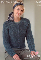 Stylecraft double knit pattern 8497