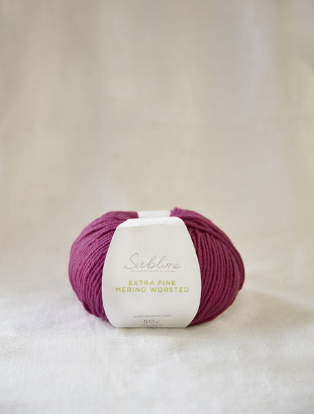 Sublime Extra Fine Merino Worsted Weight Wool
