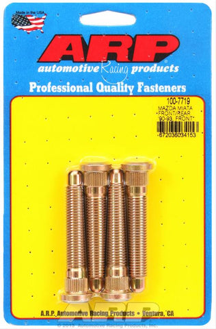 ARP Wheel Studs - Mazda MX-5 NA/NB FRONT & NA6 REAR