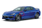 Dynamic LED Side Marker Turn Signal Kit (Clear) - Mazda MX-5 ND & Mazda RX-8 & Fiat 124 Spider