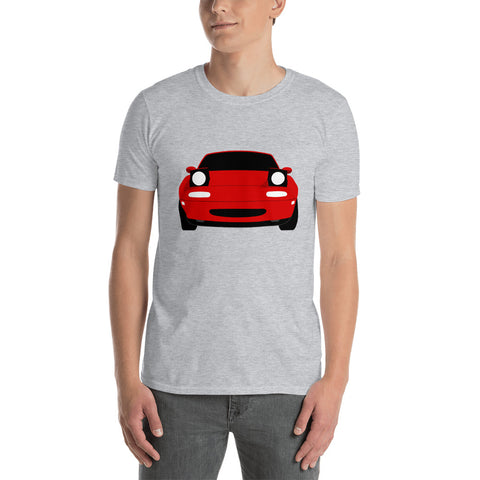 Short-Sleeve T-Shirt - NA MX-5 (Red)