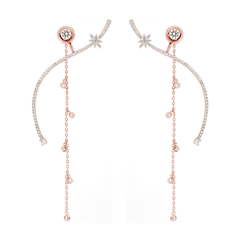 VENUS EARRINGS – PINKGOLD