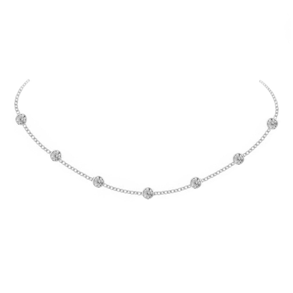 Diona Necklace - Silver
