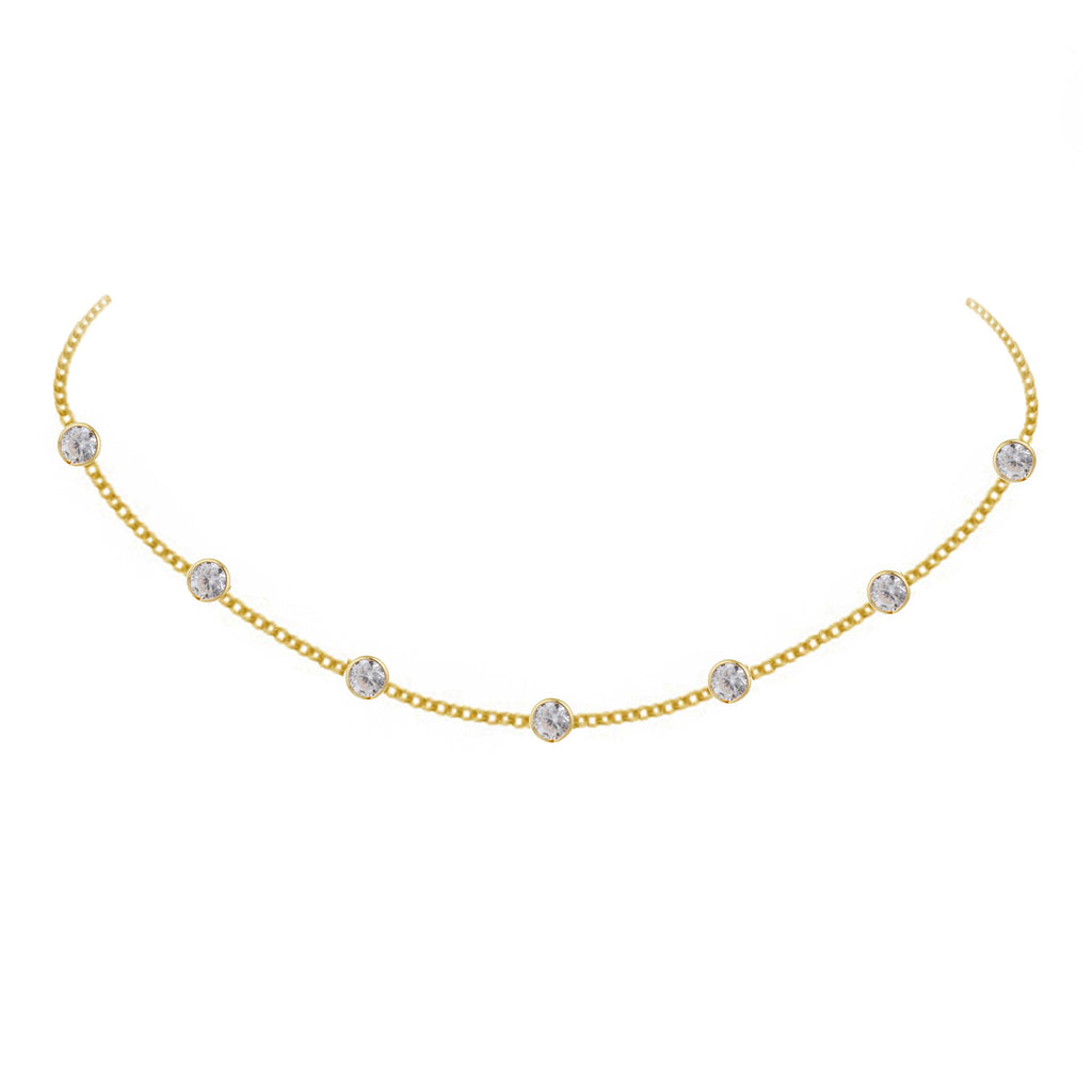 Diona Necklace - Gold