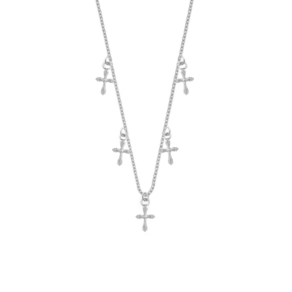 Cross Necklace - Silver