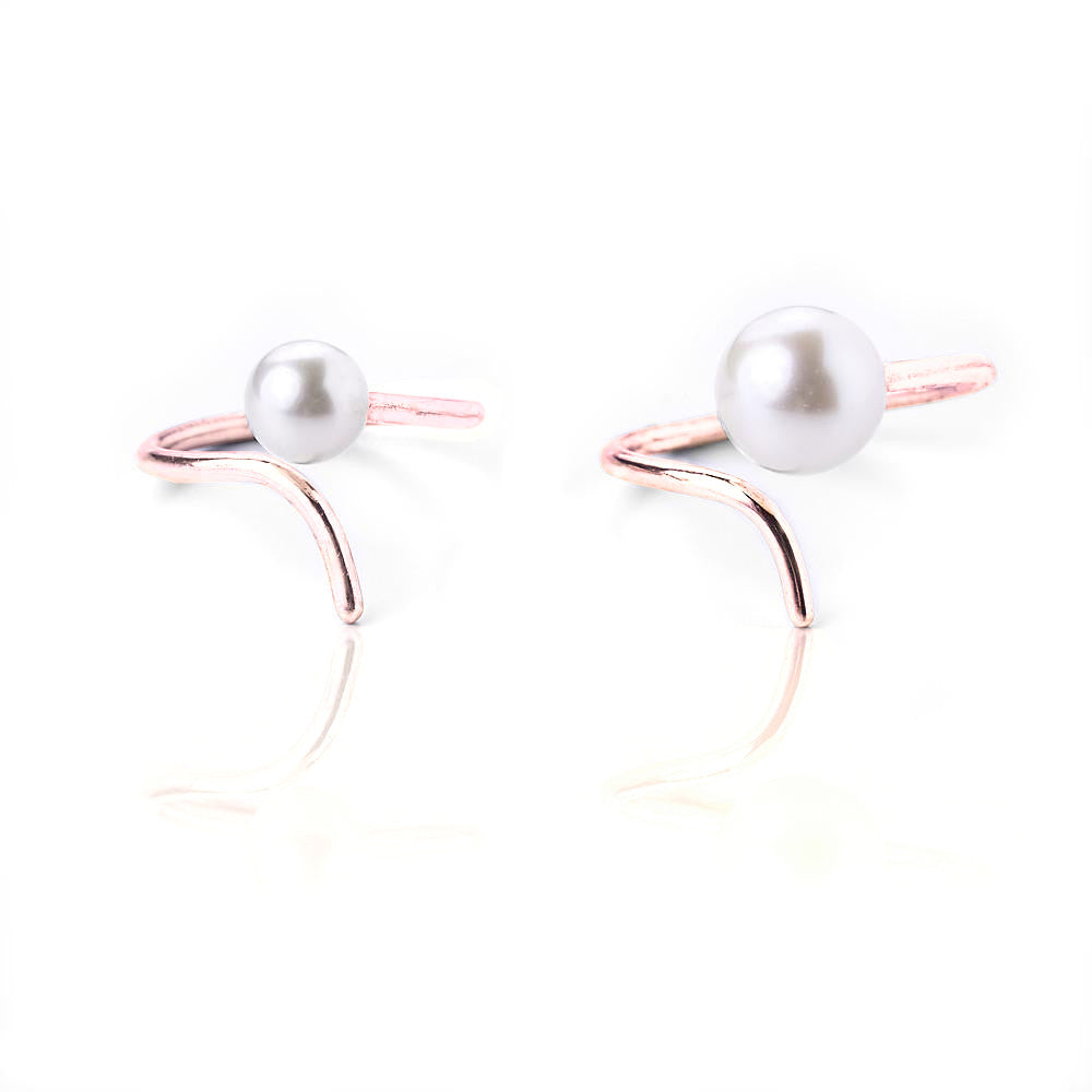 Small pearl ring - Pinkgold
