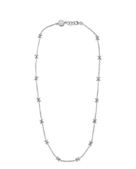 Yada Villaret in X Necklace - Silver