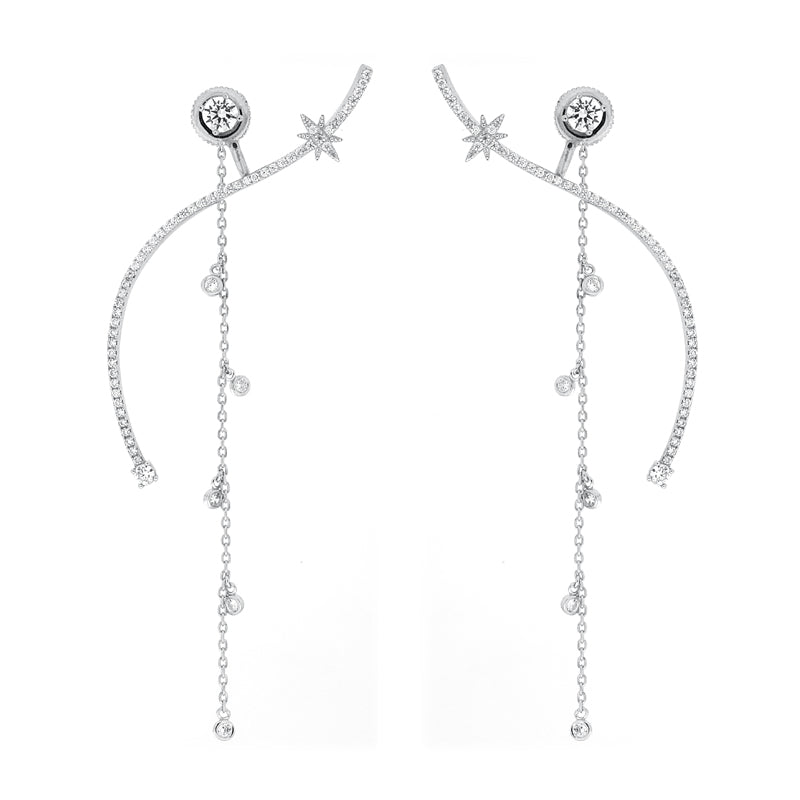 VENUS EARRINGS – SILVER