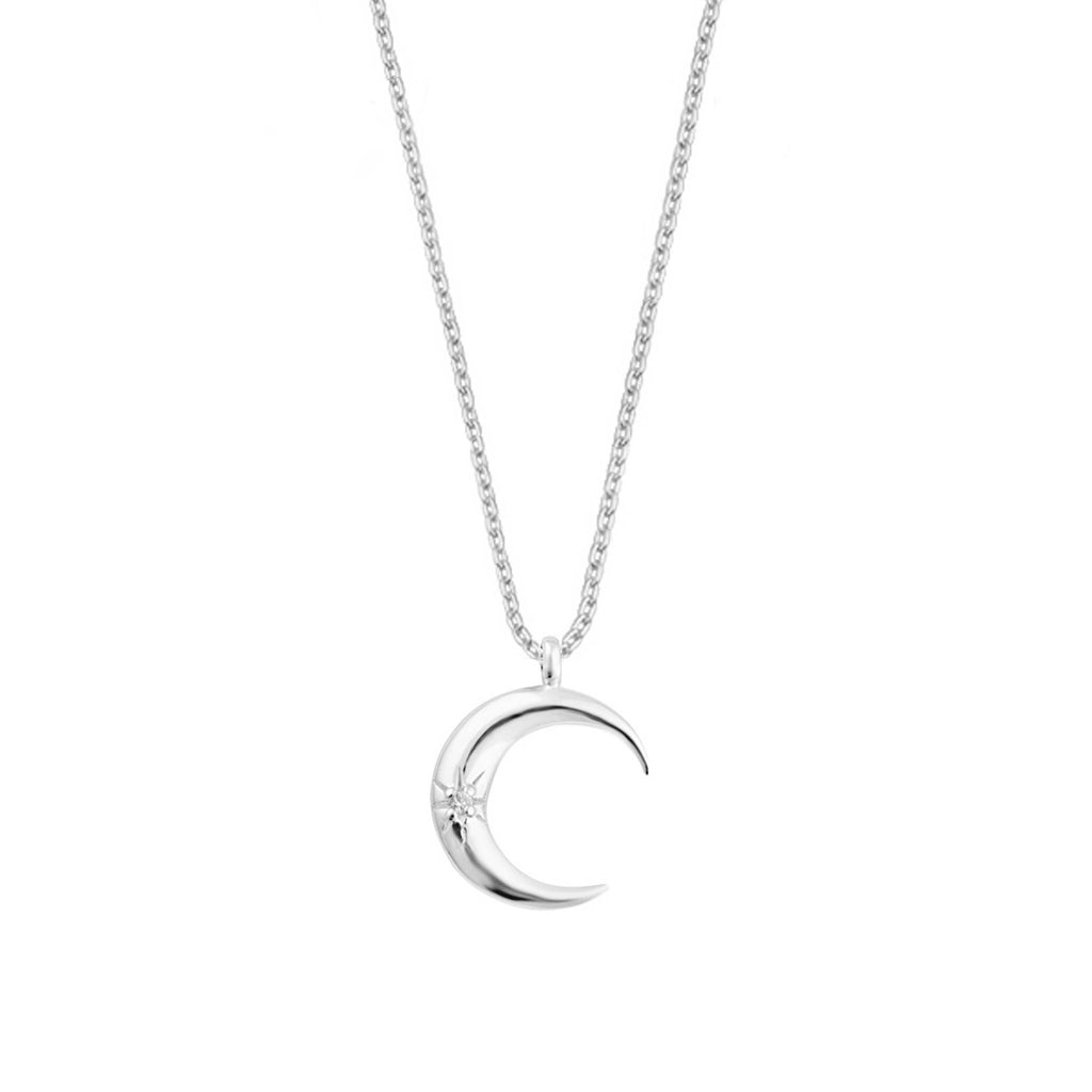 Luna Necklace - Silver