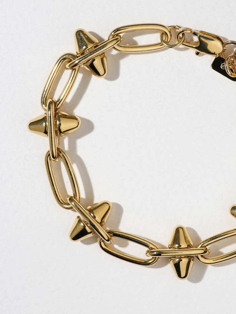 THE CELESTIA SPIKE BRACELET - GOLD