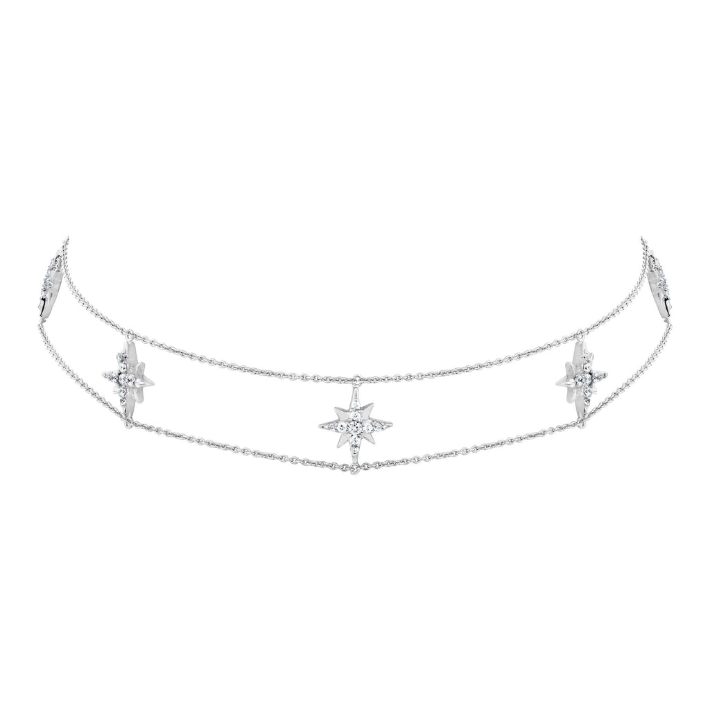 Ing Paetongtarn IN Celestial Double Chain & Choker - Silver