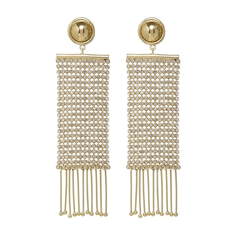 CONSTANTINE CHAINMAILLE EARRINGS – GOLD