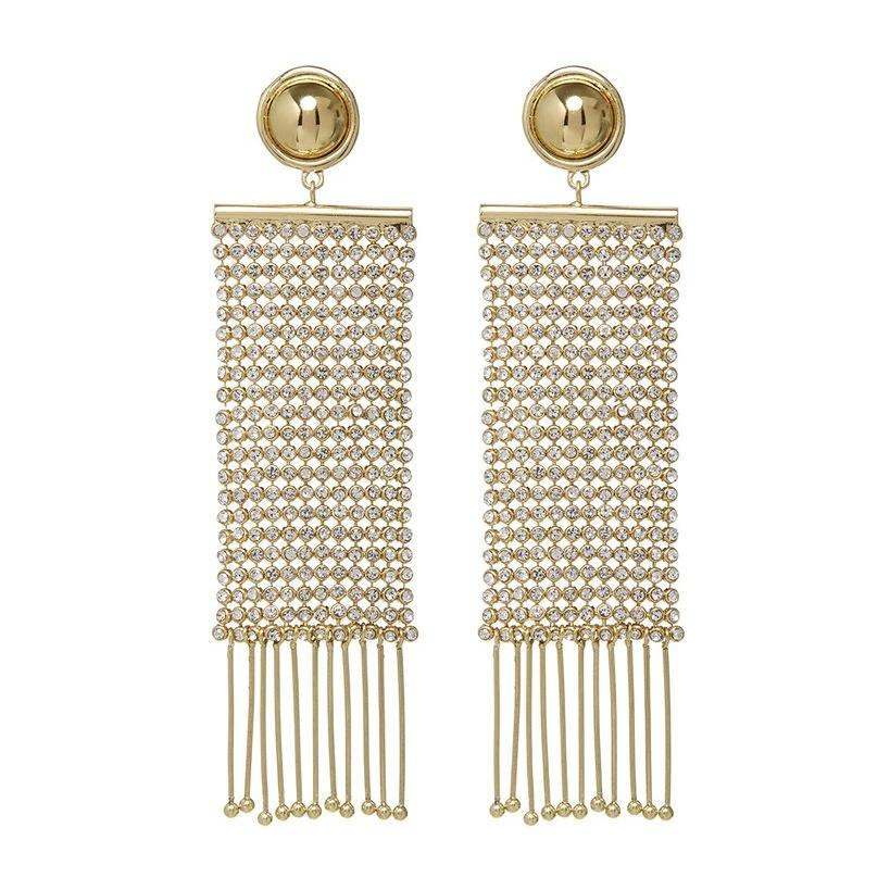 Kratae Supaksom IN CONSTANTINE CHAINMAILLE EARRINGS - Gold