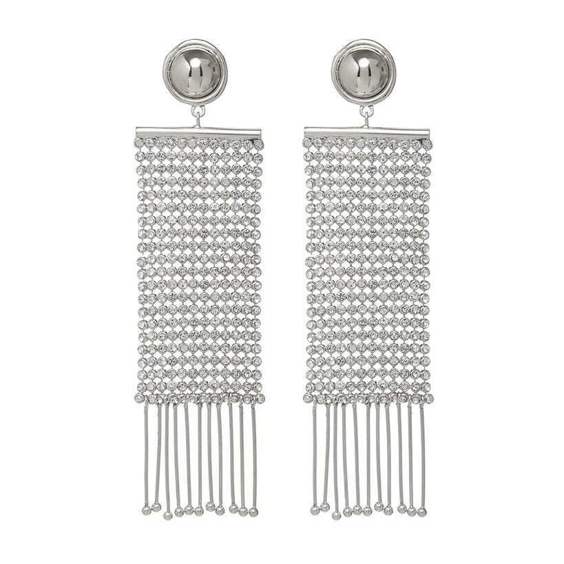 CONSTANTINE CHAINMAILLE EARRINGS – SILVER