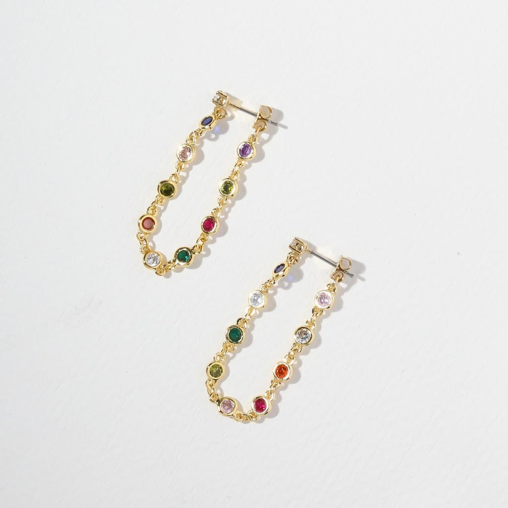 THE BEJEWELED EARRINGS – GOLD