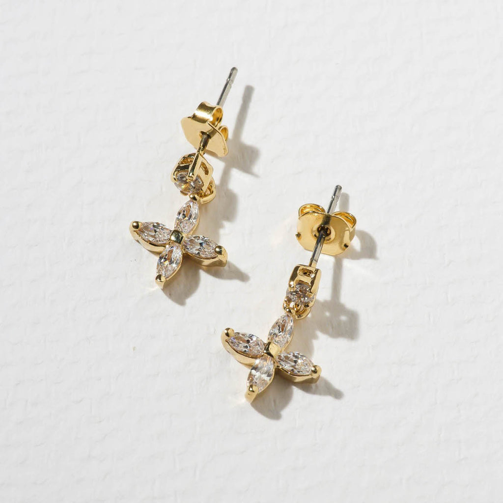 THE EMMA EARRINGS – GOLD