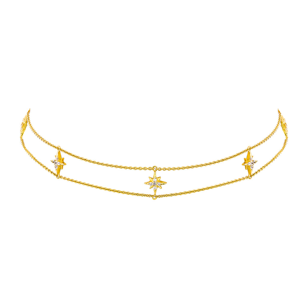 CELESTIAL MINI CHOKER – GOLD