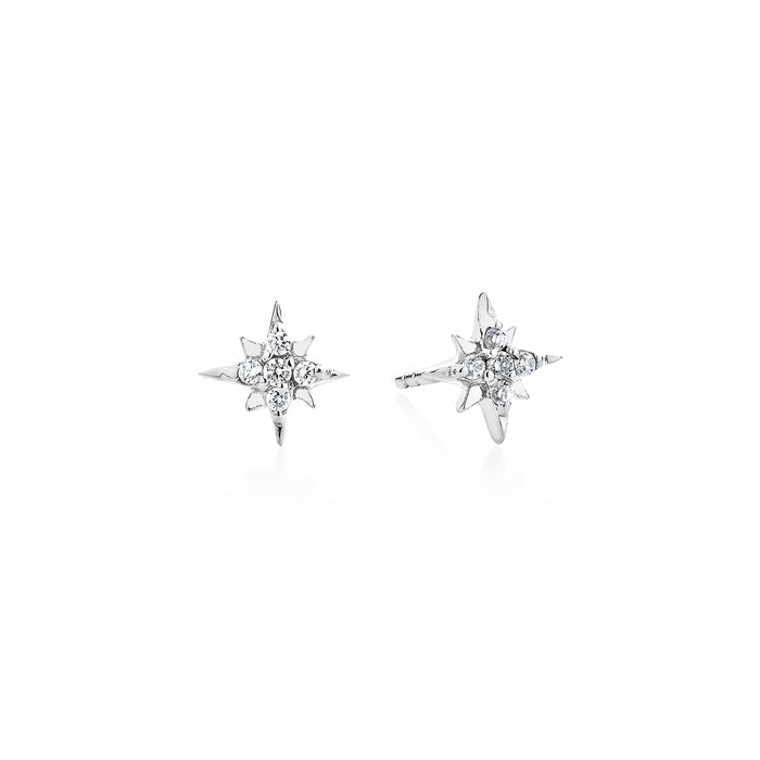 CELESTIAL STUD EARRINGS – SILVER