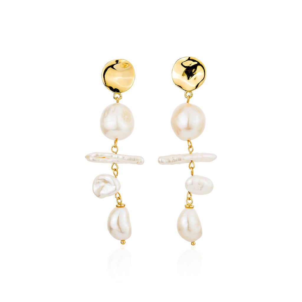 Cari Earrings - Gold