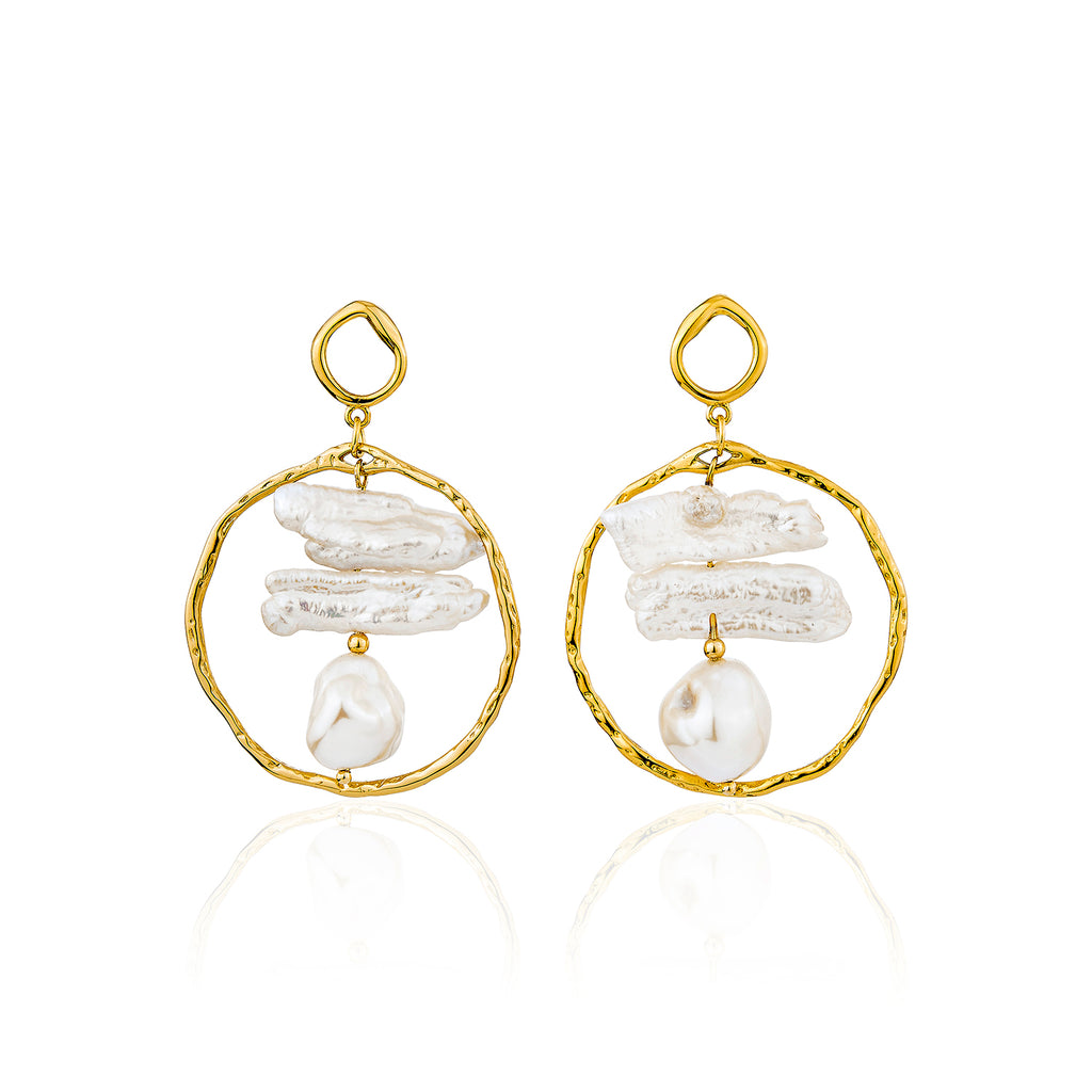 Kaia Earrings - Gold