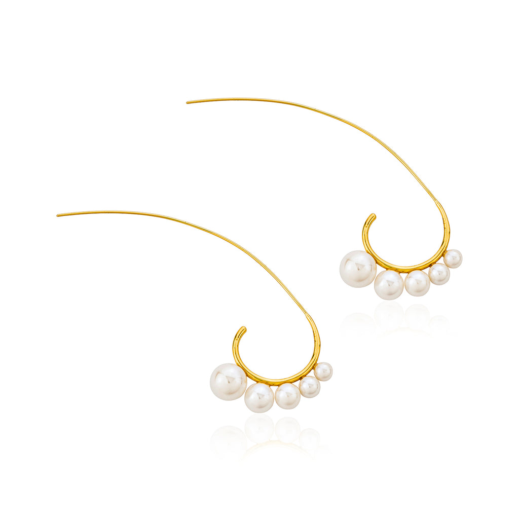 Naia Earrings - Gold