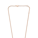 Zip Lariat Necklace - Pinkgold