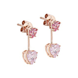 Love Me Earrings - Pinkgold