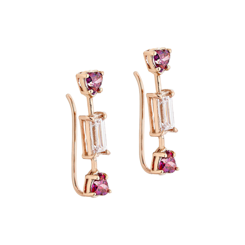 Toffee Earrings - Pinkgold