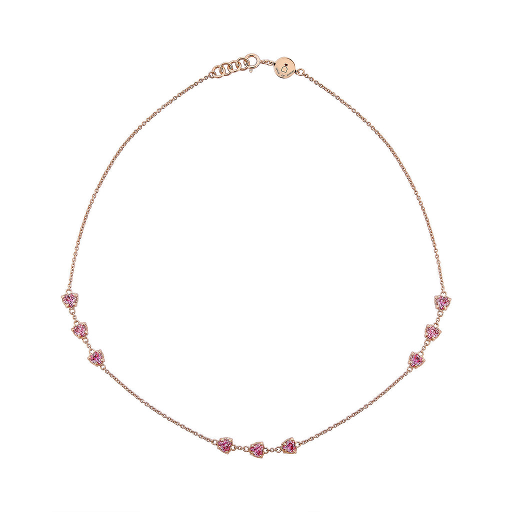 Amour Necklace - Pinkgold