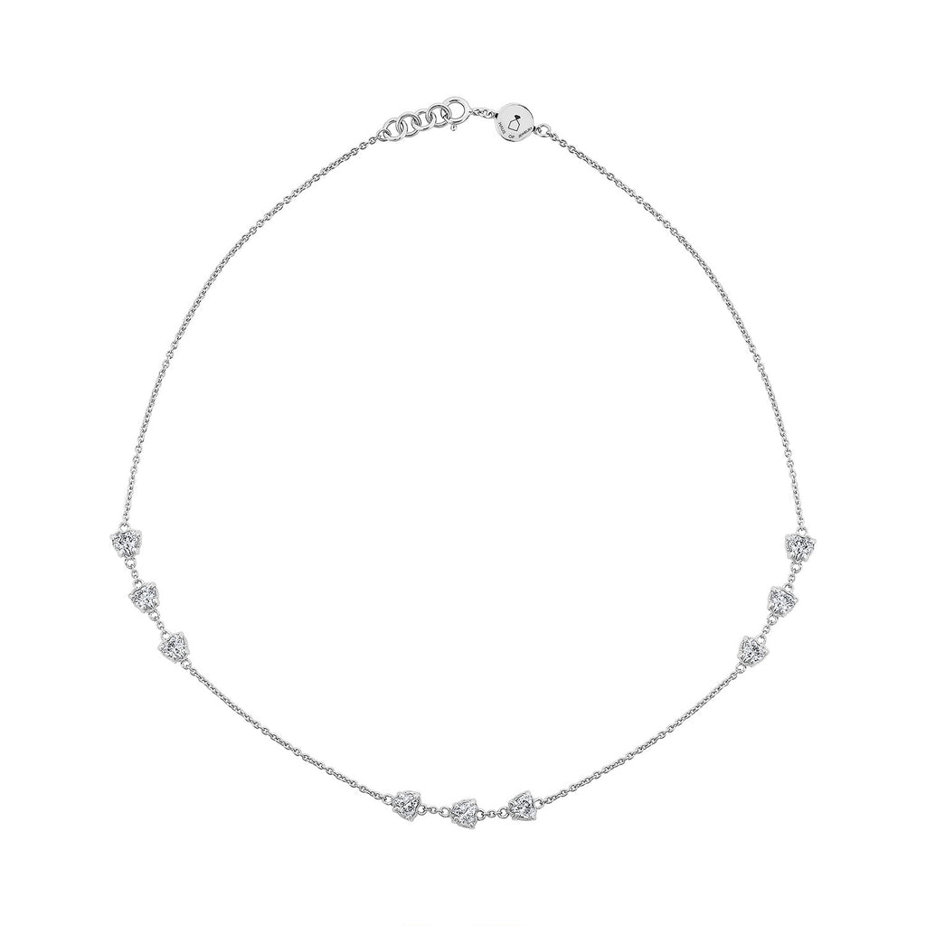 Amour Necklace - Silver